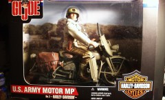 G.I. JOE U.S. Army Motor MP