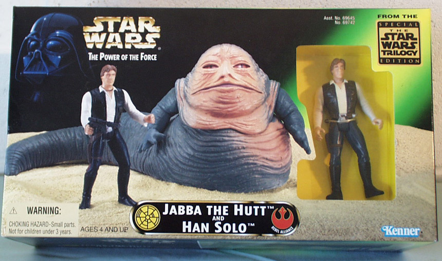 Jabba The Hutt and Hans Solo