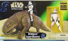 Star Wars Dewback and Sandtrooper