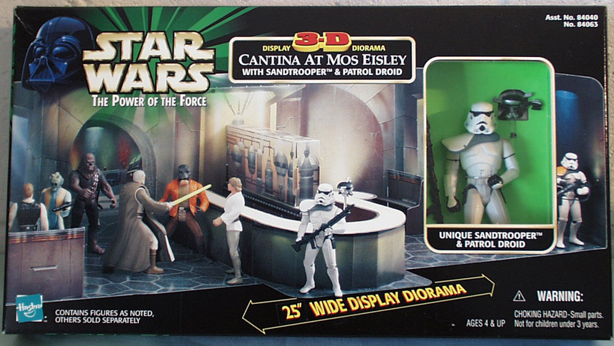 Star Wars Display 3-D Diorama